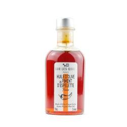 Huile parfumée au piment d'Espelette - 10 cl