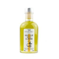 Huile d'olive parfumée à l'orange -10cl