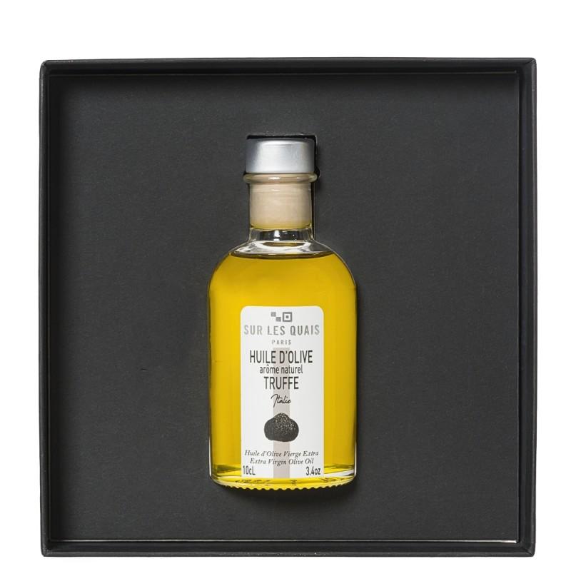 Coffret découverte huile d'olive parfumée à la truffe 10cl