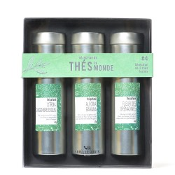 Coffret découverte 3 boites de thé