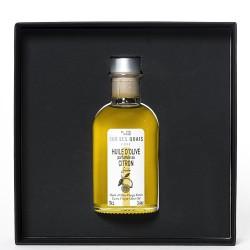 Coffret découverte huile d'olive parfumée au citron 10cl