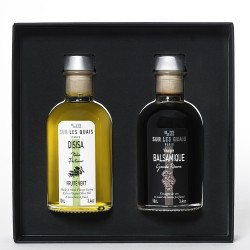 Duo box : Sicilian Olive OIl & Balsamic Vinegar (Modène)