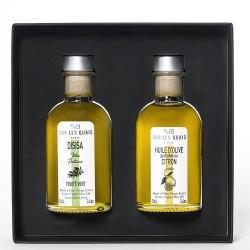 Coffret duo d'huile d'olive siciliennes n°1