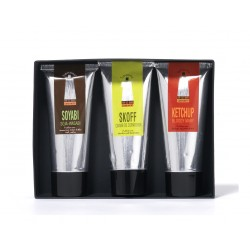 Coffret 3 Condiments (Ketchup Bloody Mary-Skoff-Soyabi)
