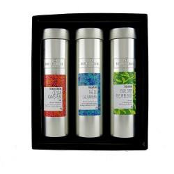 Coffret découverte thés noirs et thés verts parfumés