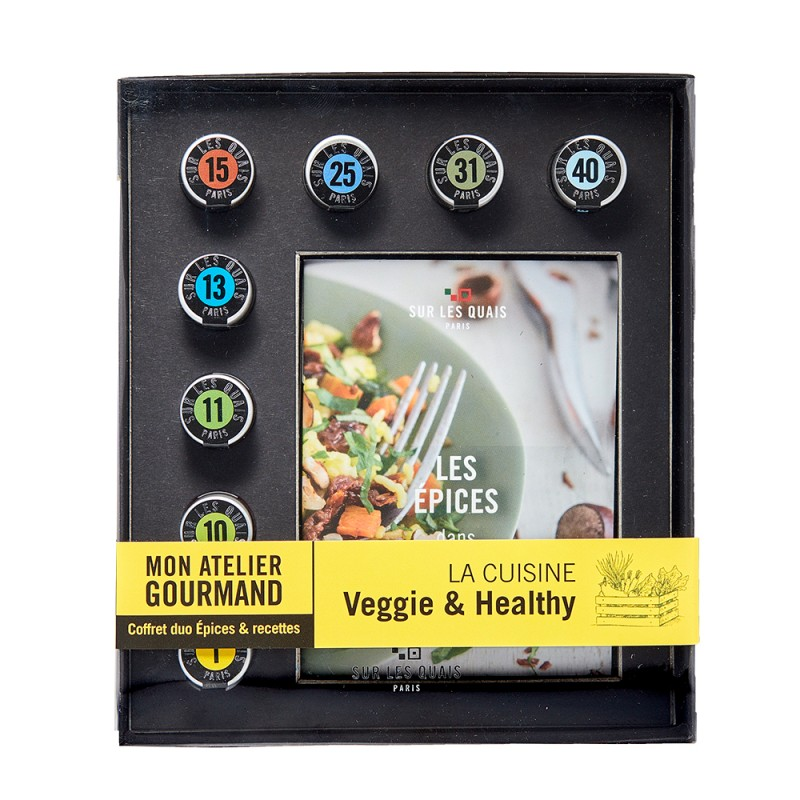 Coffret Mon Atelier Gourmand Veggie & Healthy