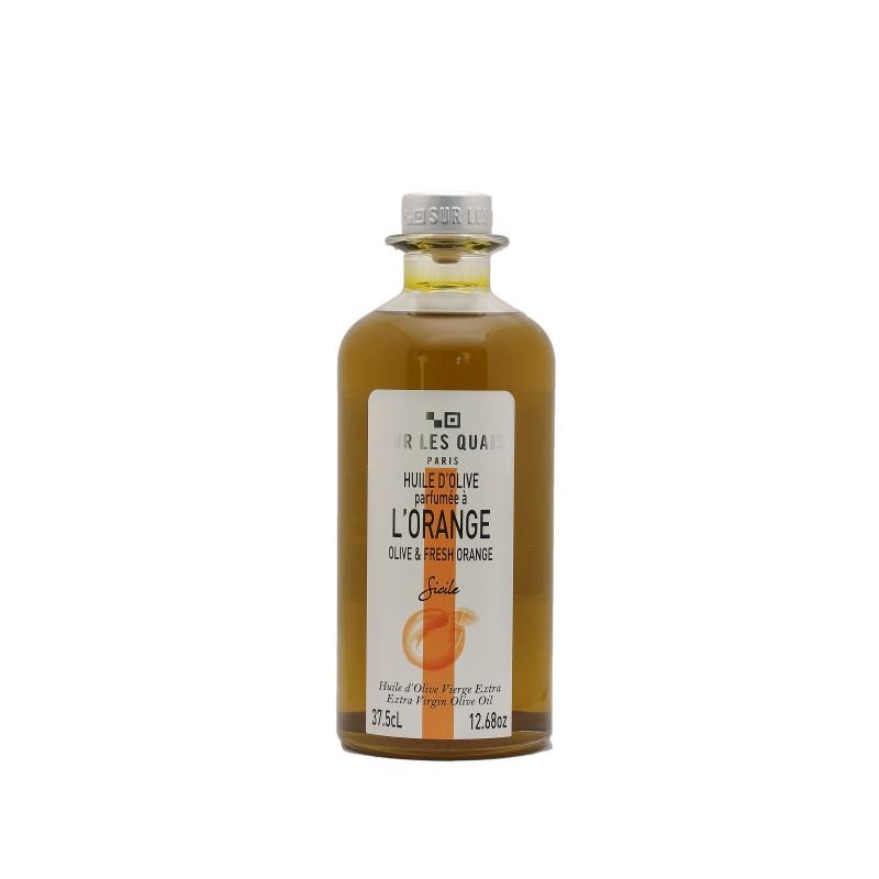 Huile d'Olive parfumée aux Oranges de Sicile - 37,5cl