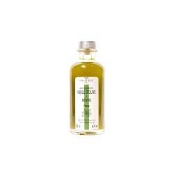 Huile d'olive parfumée à la menthe