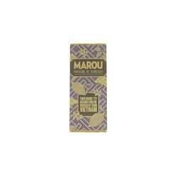 Tablette de chocolat Marou (violet) - PM