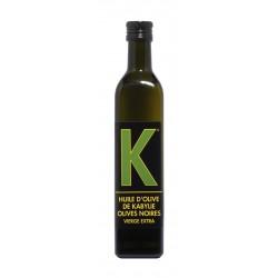 """Huile d'olive vierge de Kabylie """"K"""" 0,5L"""