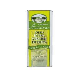 Huile d'Olive Masseria Asciano (Pouilles) - Bidon de 5L