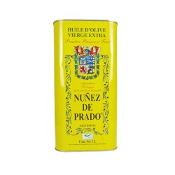 Huile d'olive extra vierge Nunez de Prado (Andalousie) - Bidon de 5L