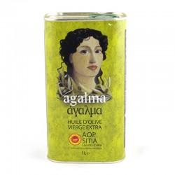 Huile d'olive Agalma Sitia IGP 1L