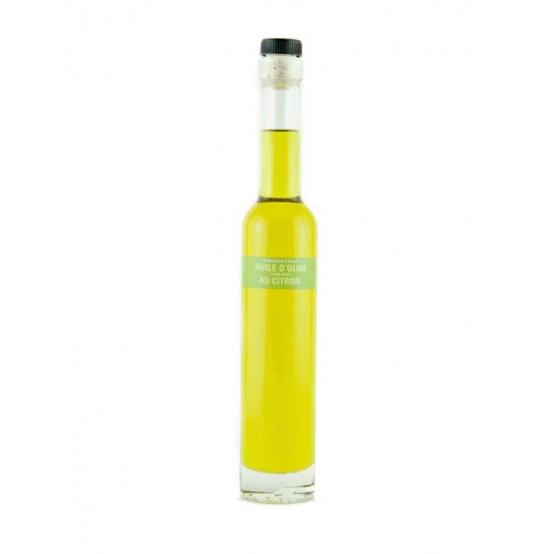 Huile d'Olive parfumée au Citron de Sicile - 20cl