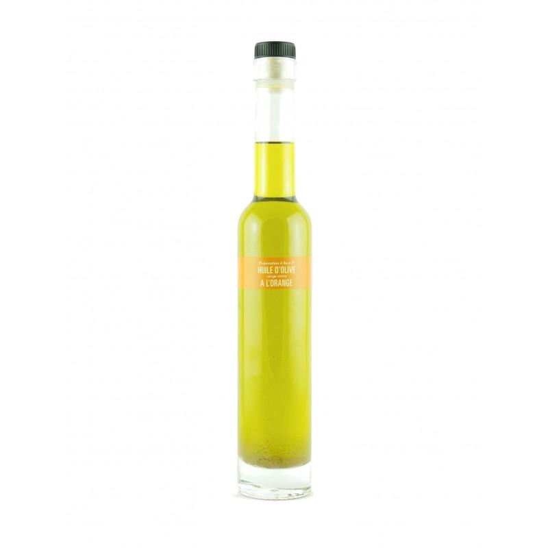 Huile d'Olive parfumée aux Oranges de Sicile - 20cl