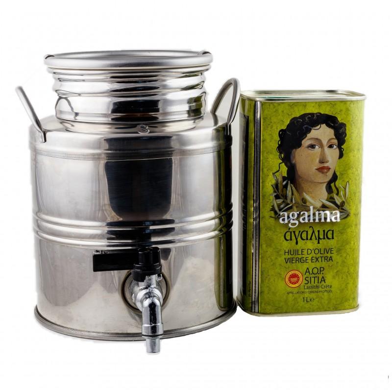 Fût à huile + Agalma